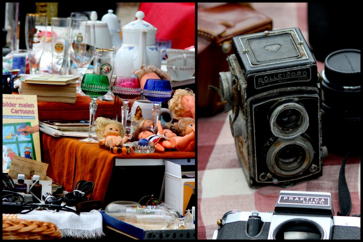 Flea Market by the Elbe
